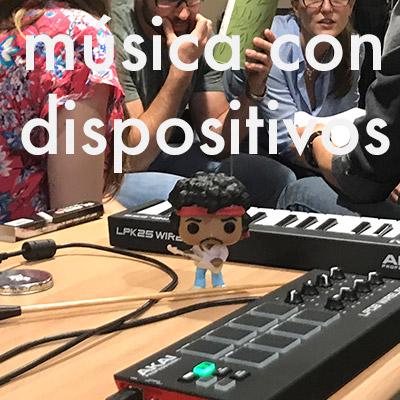 Taller de música con dispositivos