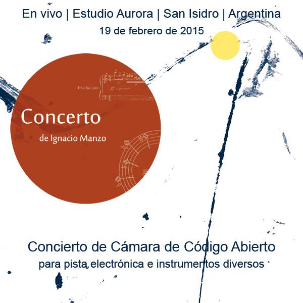 Ignacio Manzo | Concerto