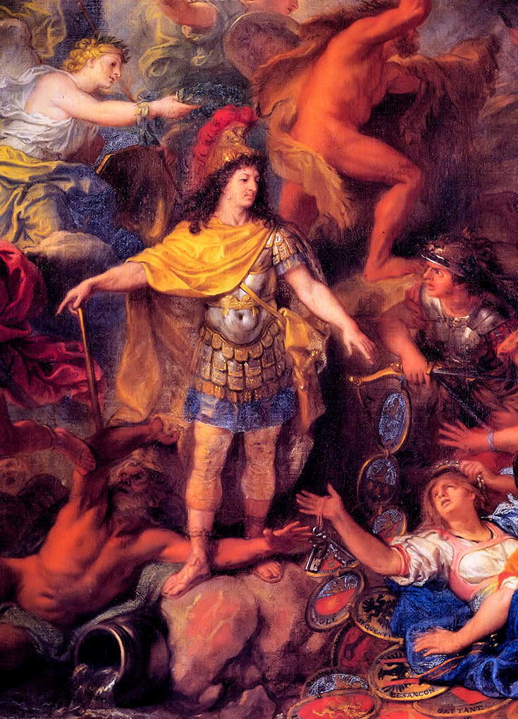Louis XIV - Charles le Brun 70