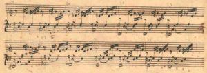 Bach manuscrito