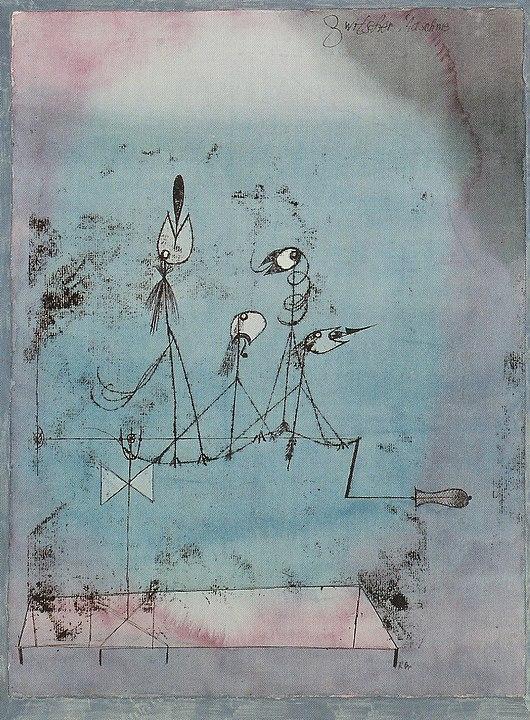 Paul Klee - Twittering Machine (1922)