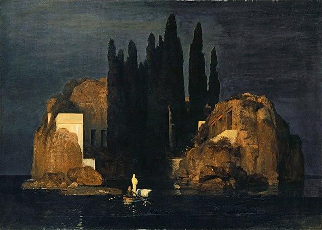 Arnold Böcklin - Die Toteninsel (1886)